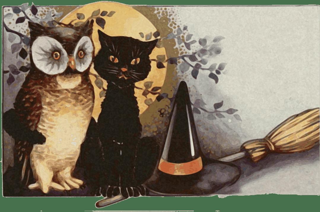 Verset et jeux de doigts pour Halloween