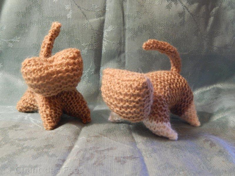 Tutoriel du chat d\'inspiration Waldorf au tricot
