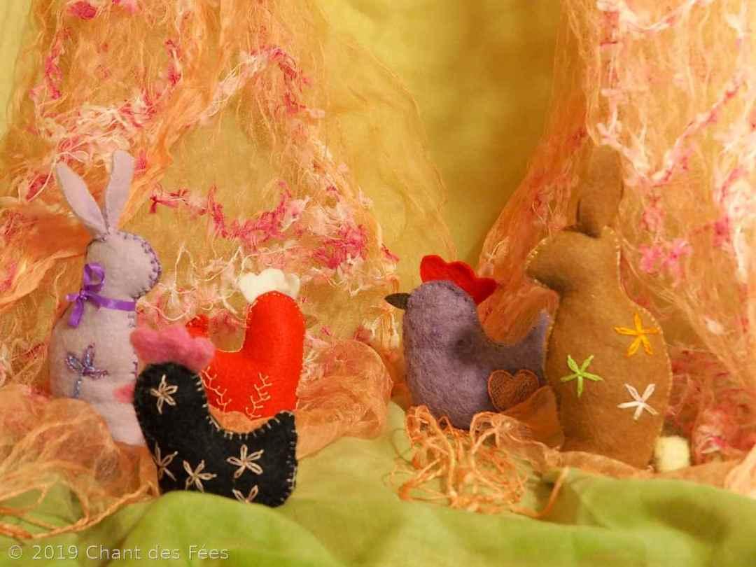 poule et lapin