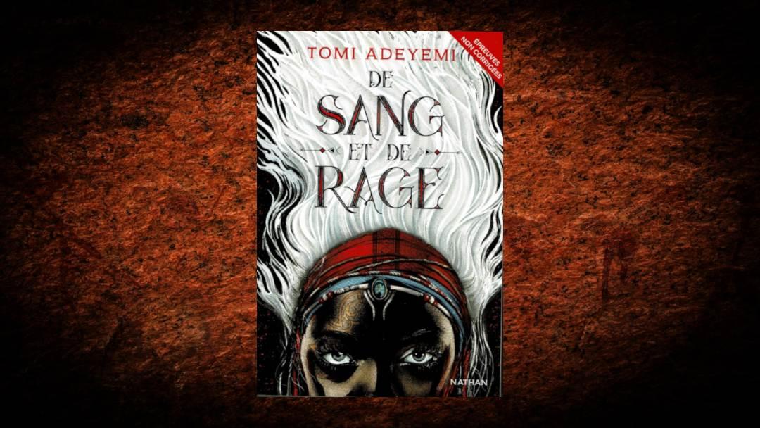 De rage et de sang, par Toni Adeyemi, aux éditions Nathan
