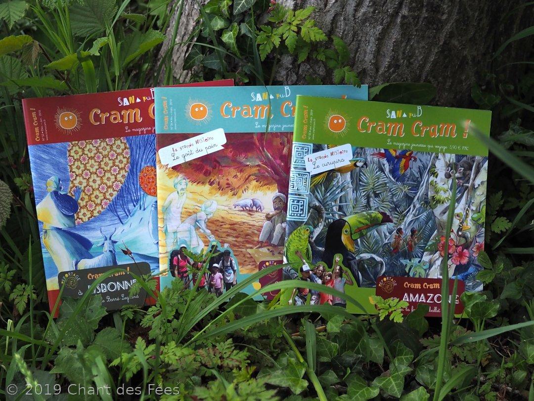 Découverte heureuse du magazine Cram Cram !