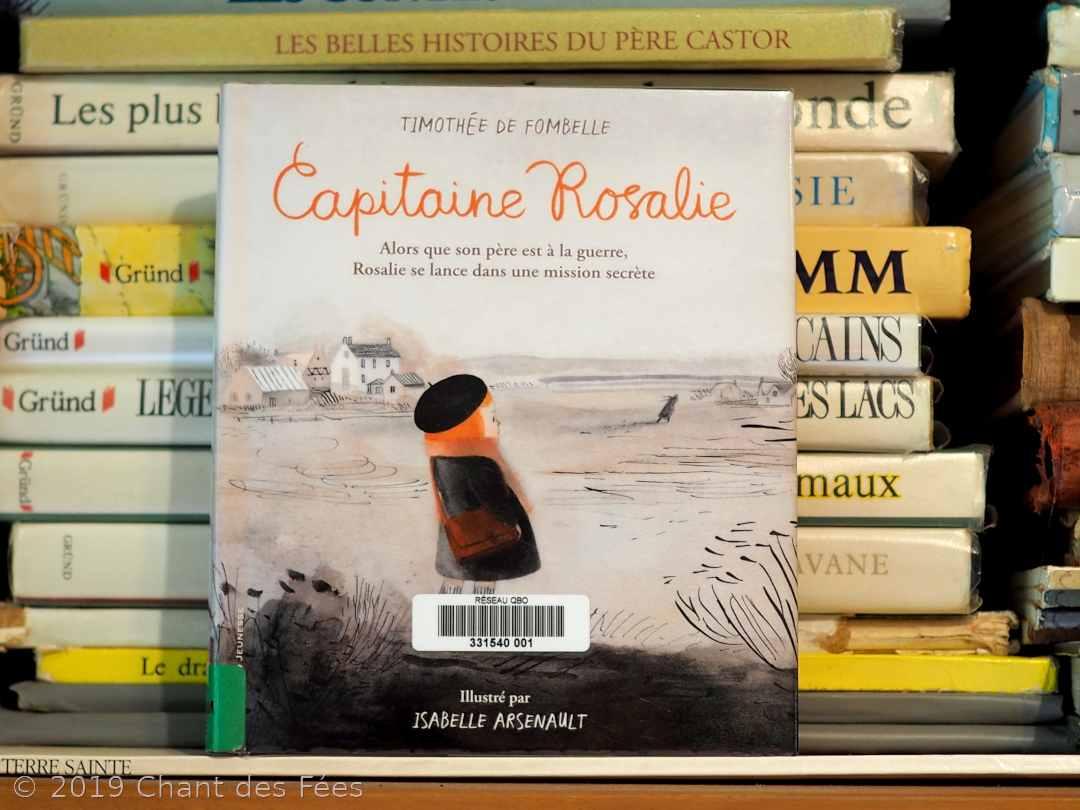 Capitaine Rosalie, rencontre entre la plume sensible et le crayon délicat
