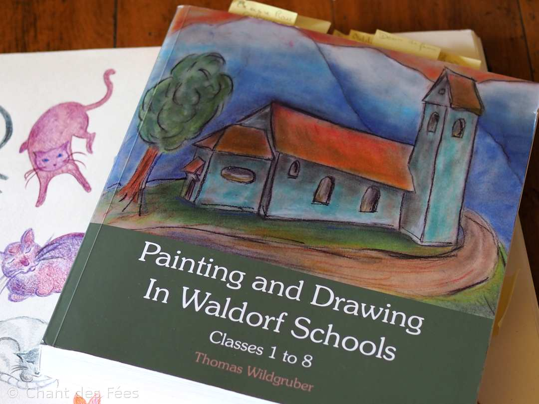 Ressource indispensable pour la peinture et le dessin : Painting and Drawing in Waldorf Schools