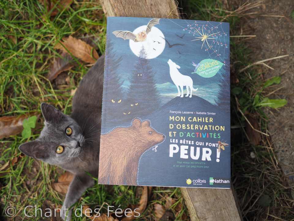 Mon cahier d\'observation et d\'activités : les bêtes qui font peur ! (Nathan / Les Colibris)