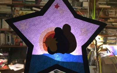 Jour 1 : Réaliser l'étoile qui vous guidera durant l'Avent
