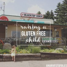 Tips on Raising a Gluten Free Child