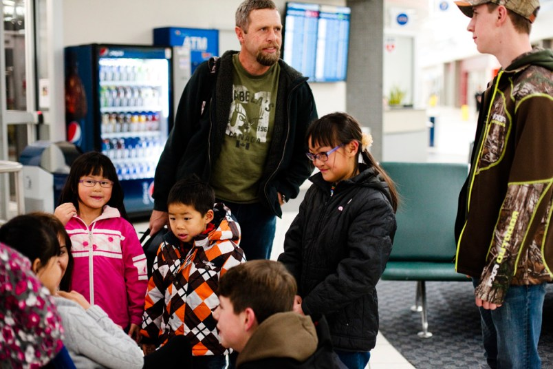 Wren is Home! China Adoption Airport Homecoming