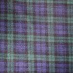 BlueGreen Plaid fleece