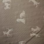 Puppy Biege Cream Quilt