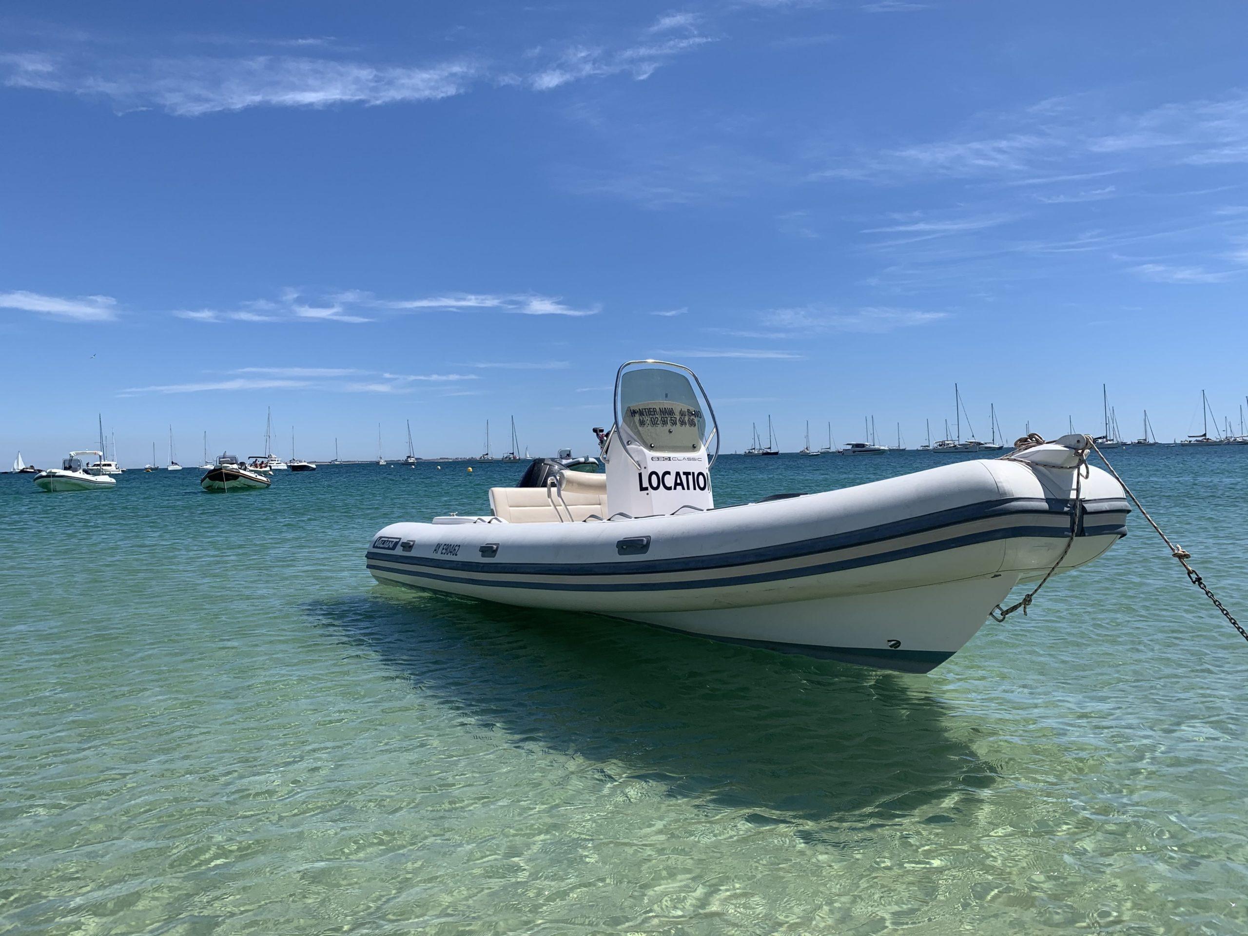 location bateau morbihan