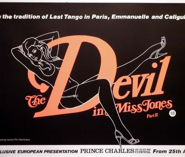 The Devil In Miss Jones Ii Quad Poster 1982