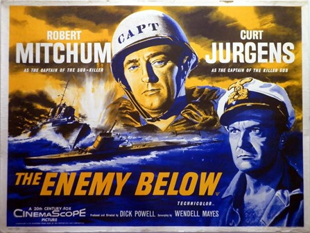 Image result for the enemy below poster
