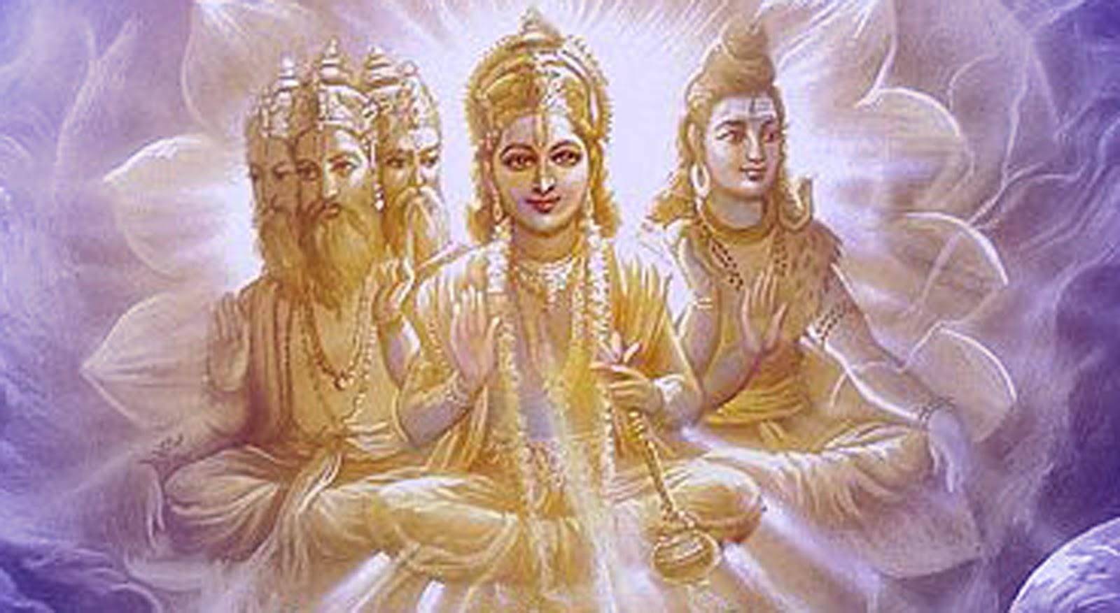 The meaning of upanishads by vishnu to brahma