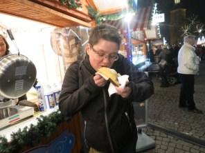 In Spandau hab ich Choko-Kebap gegessen. Ein Traum!