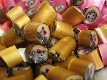 Und so sehen die fertigen Bonbons aus - vor allem warm sind sie ein echter Genuss!