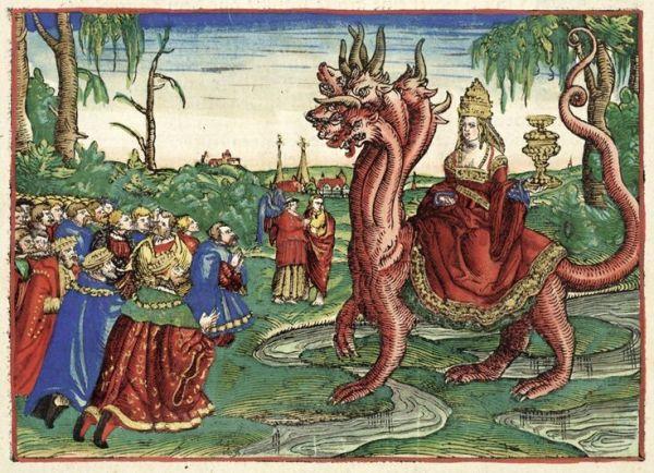 Bible de Martin Luther, 1534.