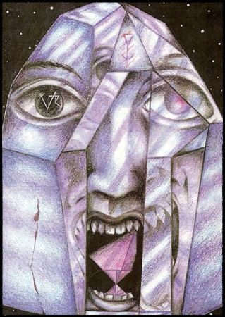 Sinister Tarot, Atu X, Wyrd. Christos Beest.