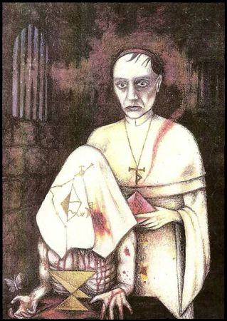 Sinister Tarot, Atu V, Master. Christos Beest