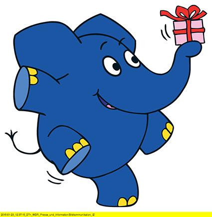 Ein Blauer Elefant Wird 40 Jahre Ich Gratuliere