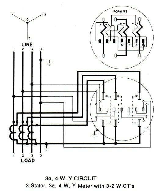 delta metering wiring diagram circuit diagram template