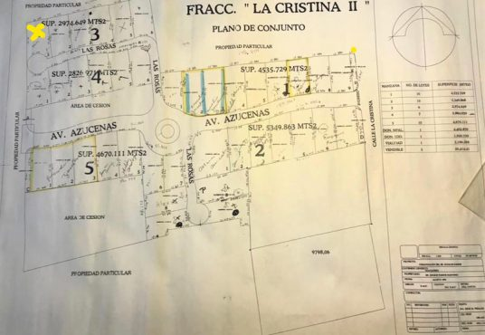 Lot For Sale in Ajijic