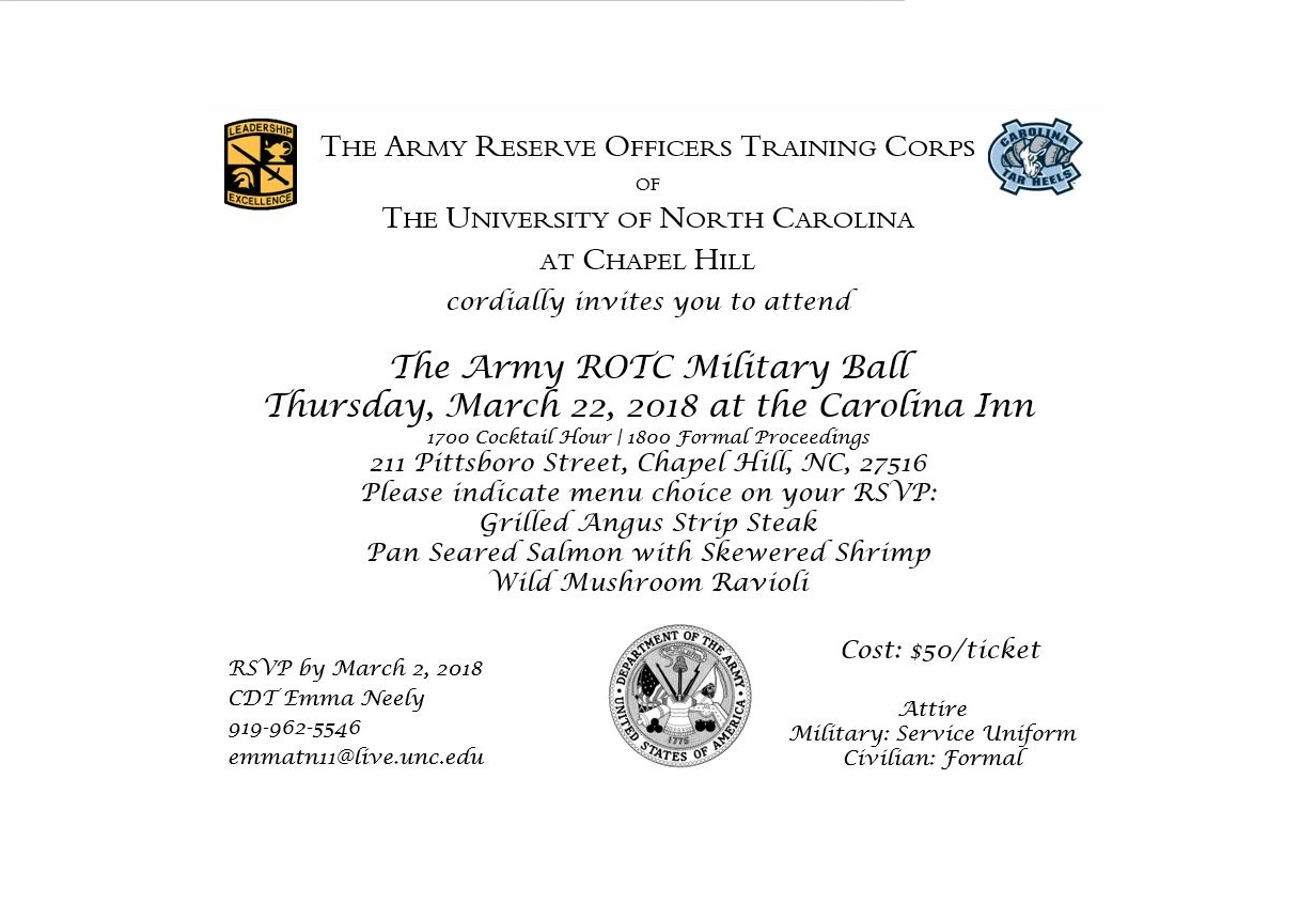 formal invitation military Cogimbous