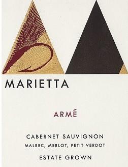 Marietta Cellars Arme Cabernet Sauvignon 2017 Chapel Hill Wine Company