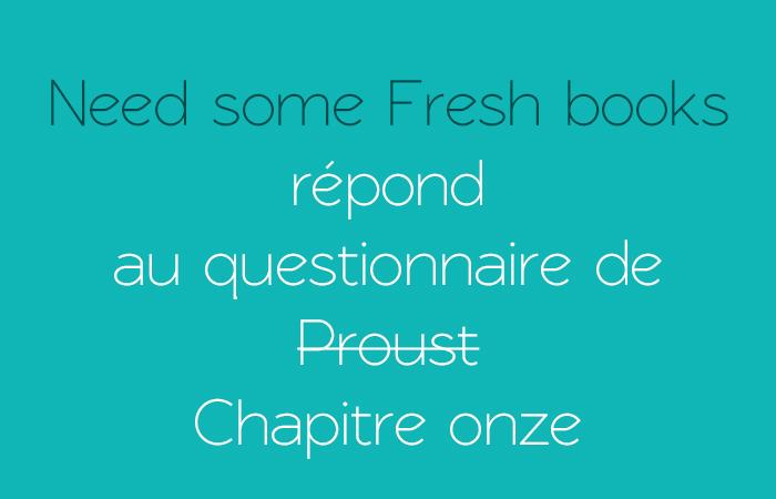 Need Some Fresh Books