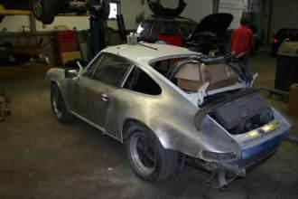 Porsche Before