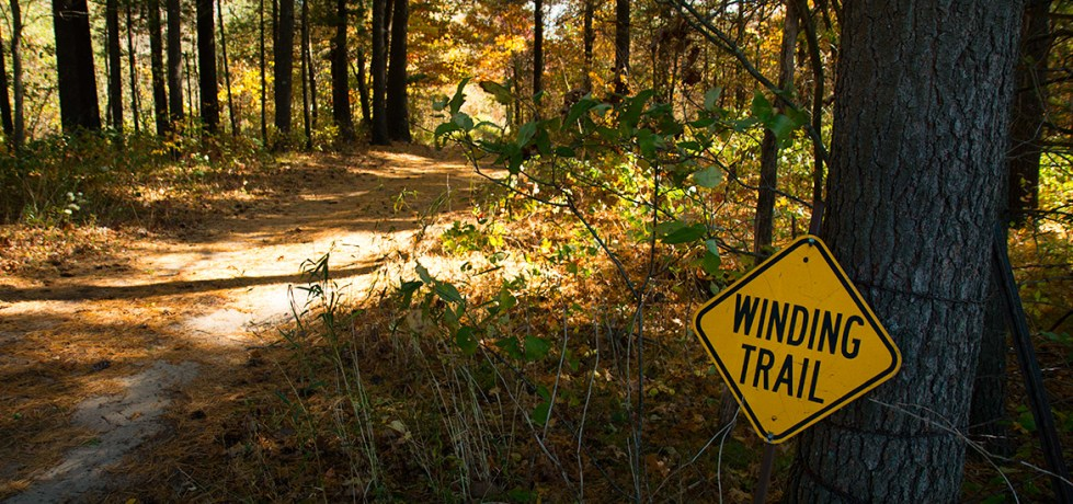 Autumn Hiking Trail at Chapparal Campground & Resort