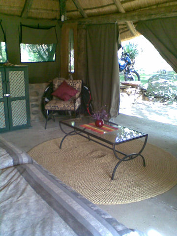 Bush Camp at Zingela