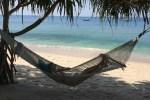 Hangmat at sea at Trisara resort in phuket