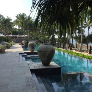 Trisara resort 45 meter salt water pool