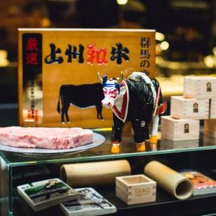Hida Gyu beef at Taiko Restaurant