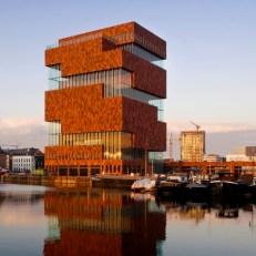 Culture MAS Museum aan de stroom Antwerpen
