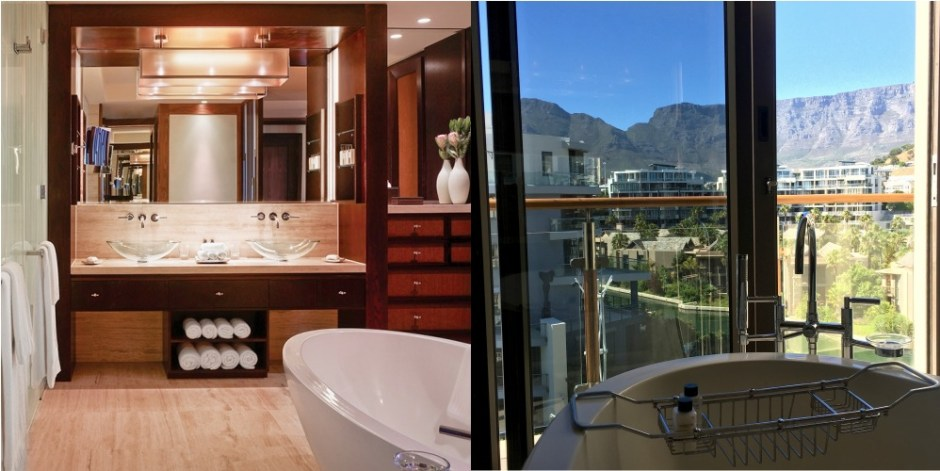 Chapter Fifty Travel Hotels One Only Resort Cape Town bathroom Marina