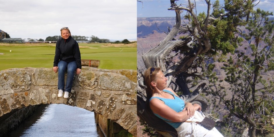 Chapter Fifty Dominique Galliot Grand Canyon Old Course st Andrews