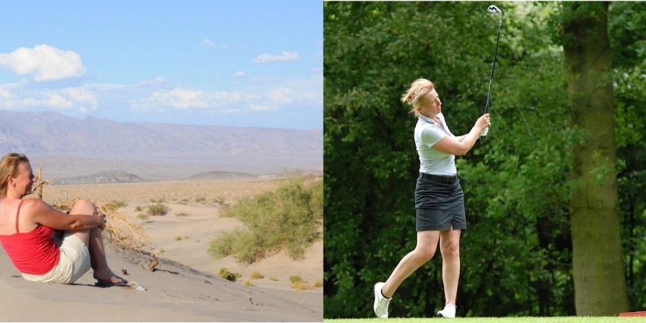 Dominique Galliot golf travel