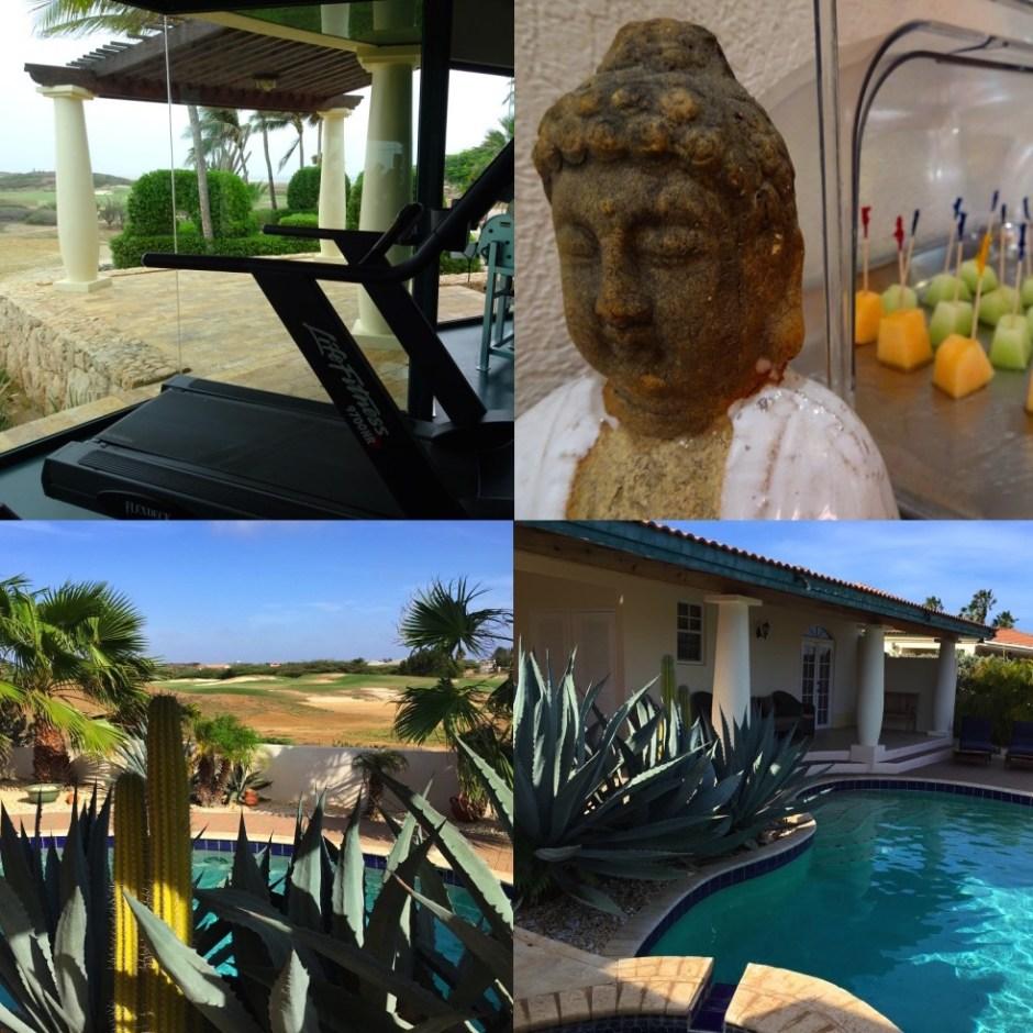 Villa rent Tierra del Sol Aruba