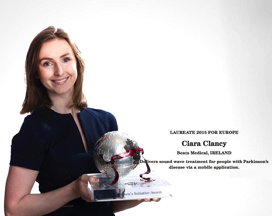 Ciara Clancy Cartier Women's Initiative Awards