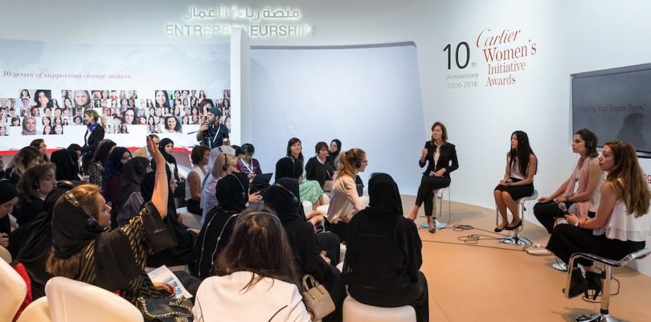 Cartier Women's Inititiative Awards 10 year Womens Forum Dubai