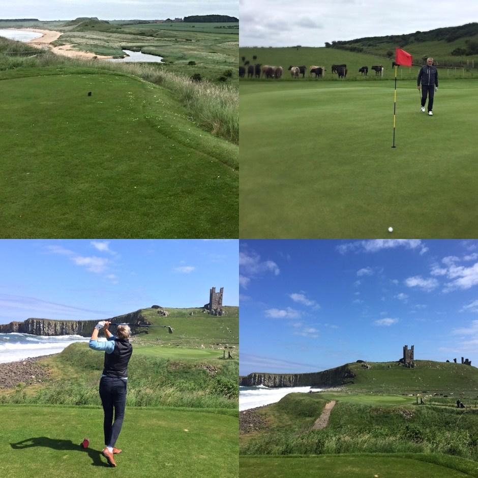 links course golf Dustanbourgh Castle