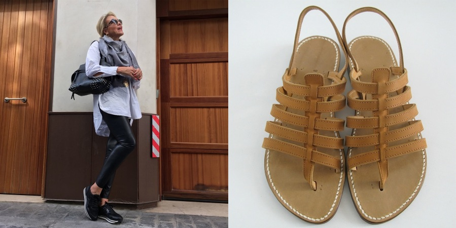 Annelies Reugebrink Rondini sandals