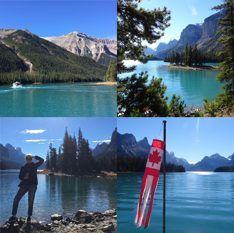 Rocky Mountains Maligne Lake
