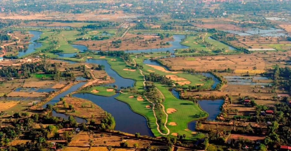 Angkor Golf arial photo