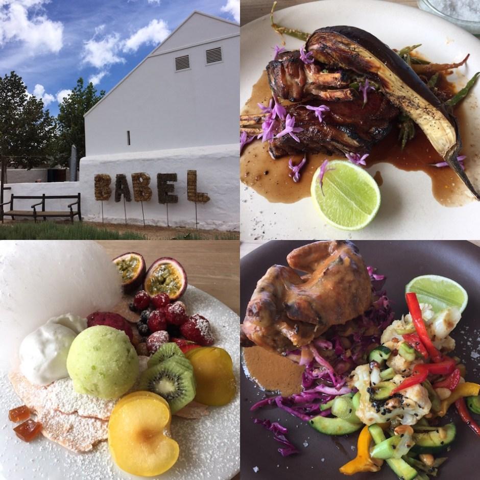 Babel restaurant Babylonstoren