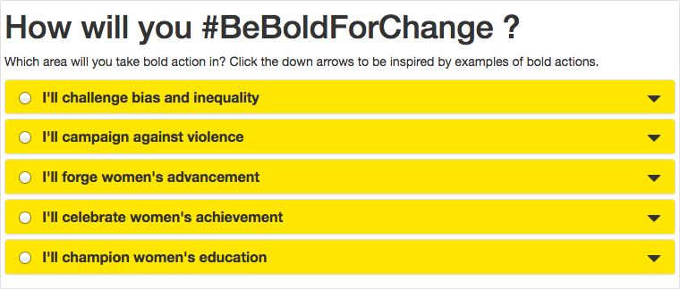 #beboldforchange #shedecides