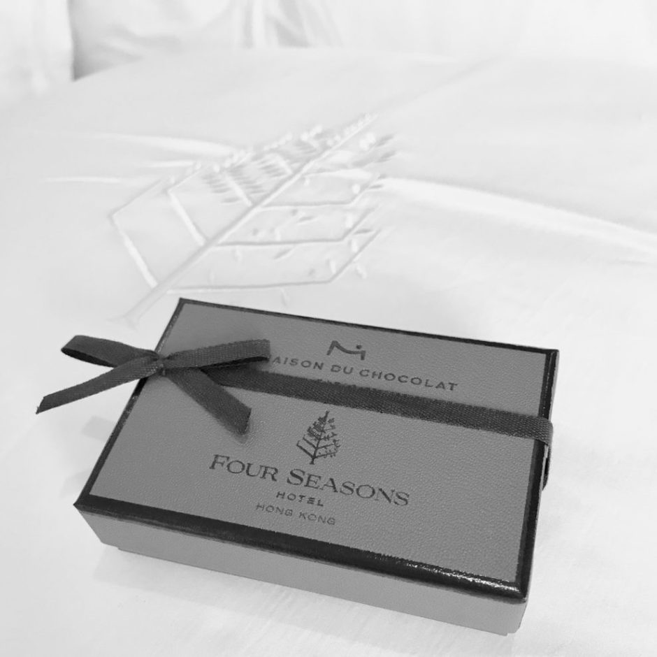 Four Seasons Hong Kong pillow