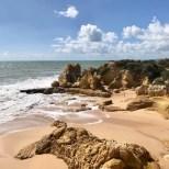 Algarve praia sao lourenco