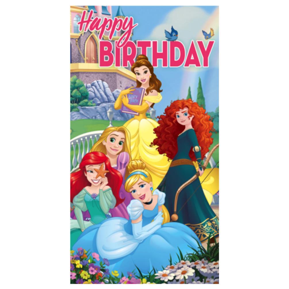 Happy Birthday Disney Princess Card Cw180713 Character Brands